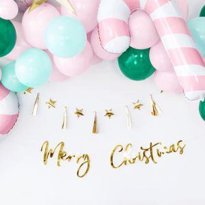 Slinger Merry Christmas goud