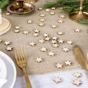 Confetti houten sterren (50st)