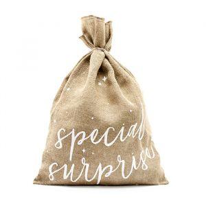 Jute zak Special Surprise