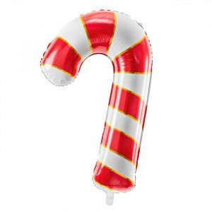 Folieballon Candy Cane Christmas (82cm)