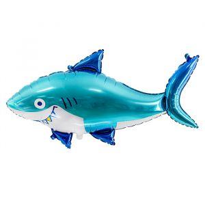 Folieballon haai (92cm)