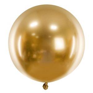 Mega ballon Glossy goud (60cm)