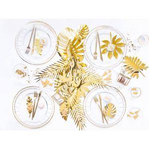 Decoratie bladeren goud Aloha collectie (21st)
