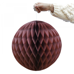 Honeycomb donker roze (2st) Delight Department