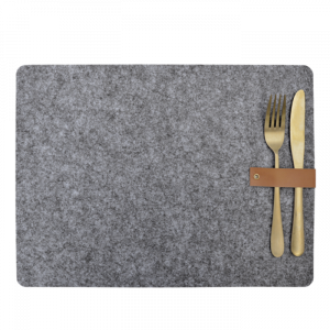 Placemats vilt grijs (4st) Delight Department