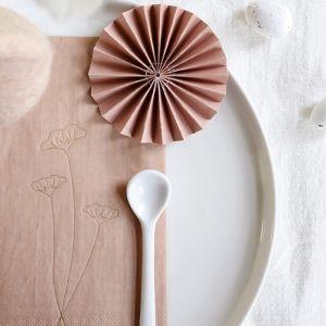 Ornamenten paper fans blush (10st) Delight Department