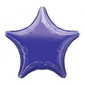 Folieballon ster paars (48cm)