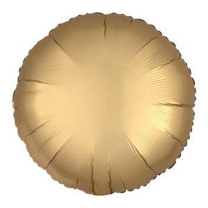 Folieballon Satin Luxe cirkel goud (43cm)