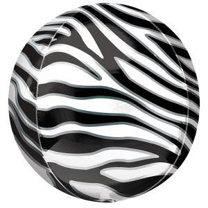 Orbz folieballon Zebra (40cm)