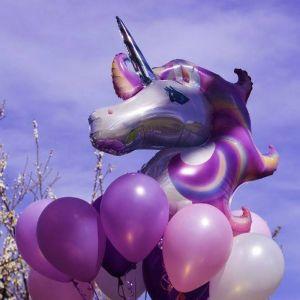 Folieballon Unicorn (83cm)