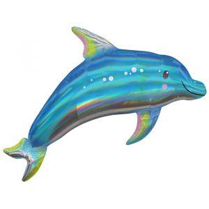 Folieballon dolfijn (73cm)