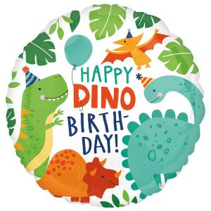 Folieballon dino party (40cm)