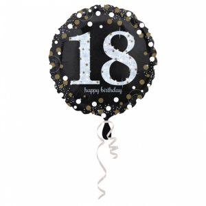 Folieballon 18 jaar Sparkle (43cm)