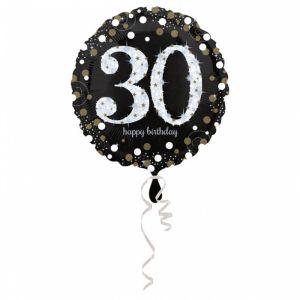 Folieballon 30 jaar Sparkle (43cm)