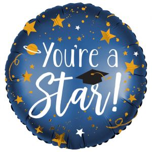 Folieballon You're a Star (40cm)