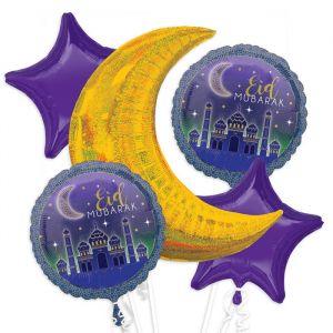 Folieballon Suikerfeest Eid Muburak (5st)