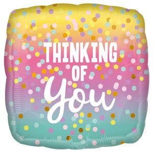 Folieballon Thinking of You (40cm)
