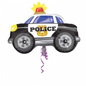 Folieballon Politiewagen (60cm)