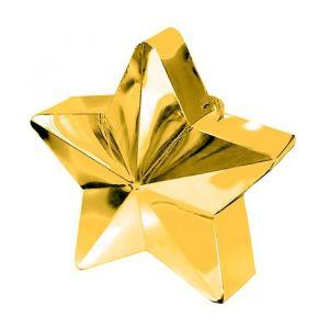 Ballongewicht ster goud (130 gram)