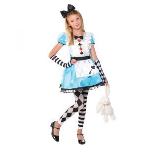 Alice in Wonderland meisjes kostuum (3-4 jaar)