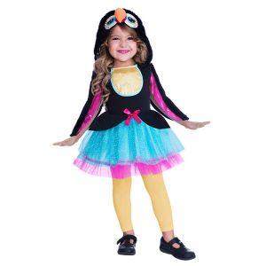 Toucan meisjes kostuum (3-4 jaar)