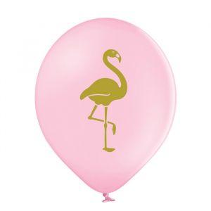 Ballonnen Flamingo roze mix (6st)