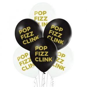 Ballonnen Pop Fizz Click (6st)