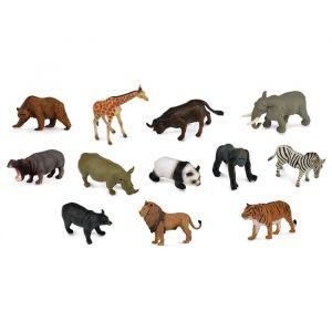 Speelset wilde dieren (12st) Collecta