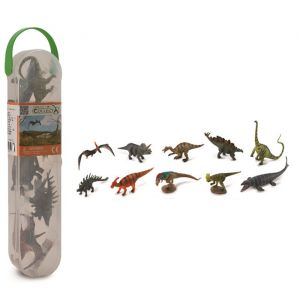 Speelset dinosaurussen prehistorie (10st) Collecta
