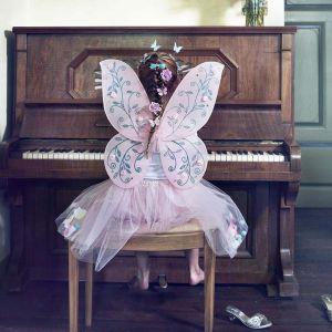 Rok met vleugels Elody roze (verstelbaar) Souza