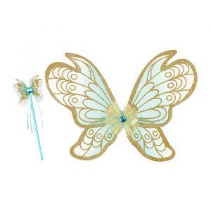 Vleugels met toverstaf Jeanne roze Souza