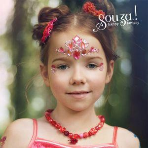 Gezicht glitter stickers Stars Souza