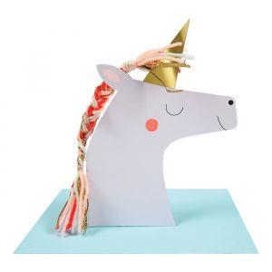 Verjaardagskaart Unicorn Meri Meri