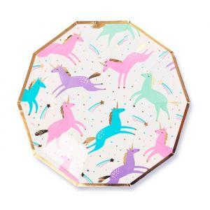 Gebaksbordjes Magical Unicorn (8 st) Daydream Society