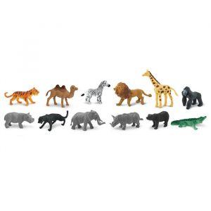 Speelset wilde dieren (12st) Safari Ltd.