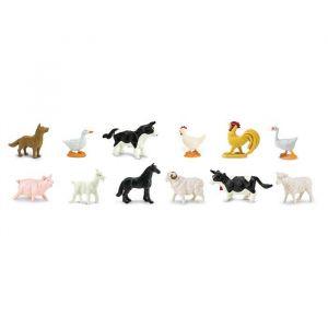 Speelset boerderijdieren (12st) Safari Ltd.