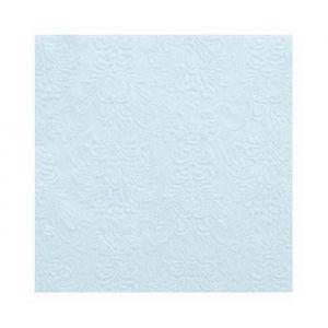 Gebaksservetten Elegance Lichtblauw (15st)
