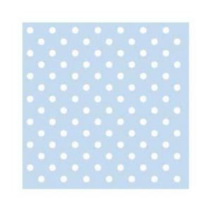 Gebaksservetten Dots Blauw