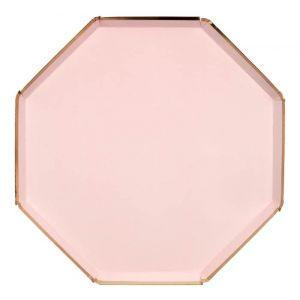Borden roze (8st) Mix and Match Meri Meri