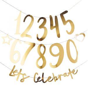 Slinger Let's celebrate Goud (2m) Hootyballoo