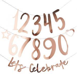 Slinger Let's celebrate Roségoud (2m) Hootyballoo