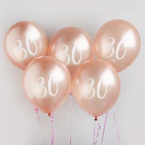 Ballon Roségoud 30 (5st) Hootyballoo