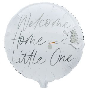 Folieballon Welcome Home Little One (55cm) Hootyballoo