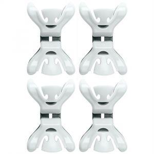 Clenchy Slingerklemmen wit (4st)