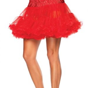 Petticoat rood Leg Avenue