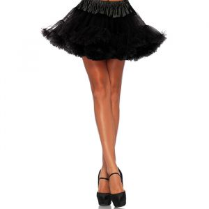 Petticoat zwart (plus size) Leg Avenue