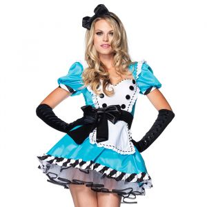 Charming Alice in Wonderland kostuum Leg Avenue