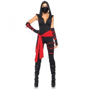 Ninja kostuum dames Leg Avenue