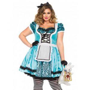 Tea Party Alice kostuum (maat 46/48) Leg Avenue