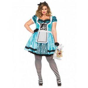 Tea Party Alice kostuum (maat 44-48) Leg Avenue